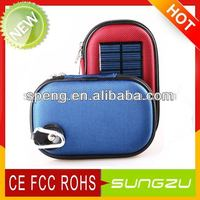 Deluxe Solar Power Cell Phone Charger Bag with factory supply