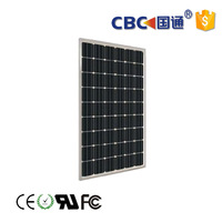 CBC Guotong for solar home system high efficiency 100w mono solar panel