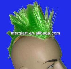 New motorbike helmet mohawk hair for autobiker promotional events