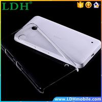 For Nokia Lumia 630 635 N630 N635 Ultra Thin Strong Protective Hard Back Cases Transparent Clear Crystal Covers Case