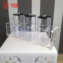 96.5% customer bought acrylic cylinder candy container tube