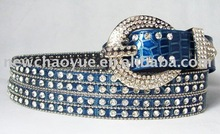 western beaded fashion belts women