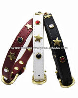 Wild West Leather Dog Collar