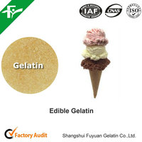 2016 Hot Sale Safety Edible Gelatin As Ice Cream Stabilizers