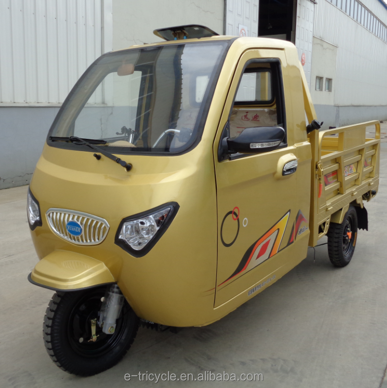 130CC 150CC Electric Gasoline Powered Cargo Tricycle