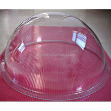 customized polycarbonate acrylic round clear plastic skylight dome cover