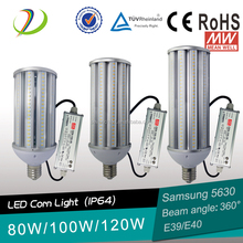 e39 100w led parking lot led corn bulb 100w no fan