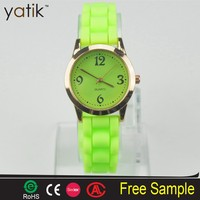 Plastic PVC rubber watch jelly silicone promotion watch cheap price atv