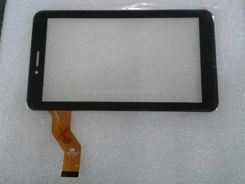 "7"" inch NJG070099AEG0B-V0 Tablet Touch Screen Panel Digitizer Glass without the sensor hole"