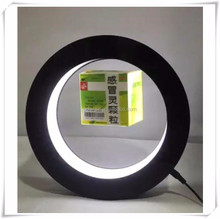 new rotating magnetic floating pop up pill box with led light for advertising