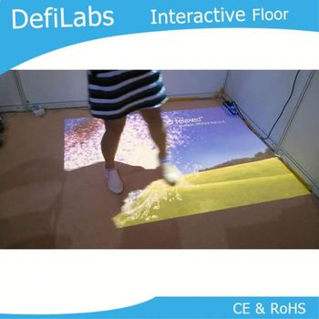 3D Interactive floor system,outdoor projection system,digital advertising equipment
