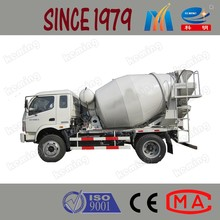Automatic Loading Concrete Mixing Truck for Sale