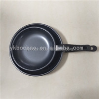 2pcs fry pan set Carbon steel Non-stick cookware