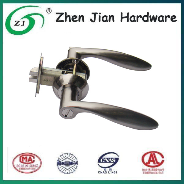 Hot sale Zinc alloy lever door handle lock from Chinese manufactory
