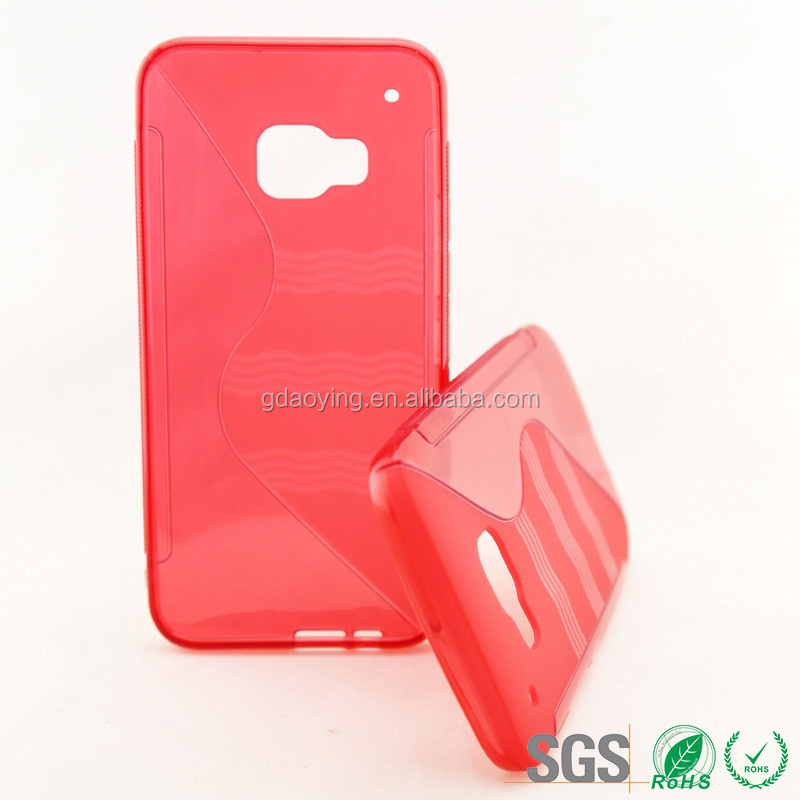 Paypal accept back soft cover cell phone tpu case for HTC M9