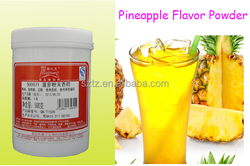 Solid Juice Powder Used Artificial Fruit Flavor Pineappple Powder Flavor