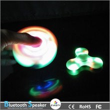 2017 New Trending LED Speaker Hand Spinners Fidget Spinner Triangle Finger Spinning Top Decompression Fingers