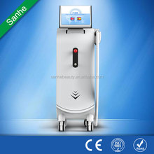 SANHE promotion season!! big spot size 24 hours continuous working laser diode hair removal supplier