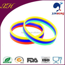 Free Spain silicone college team bracelets for 2014 world cup