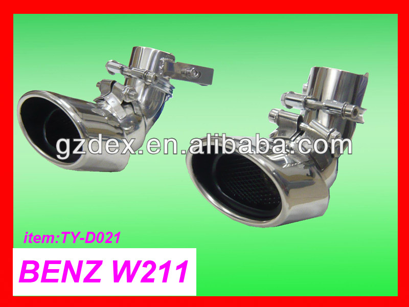 exhaust muffler exhaust for BENZ w211