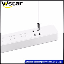 2500w new products on china market electronics extension multi socket,multi plug Socket 220v