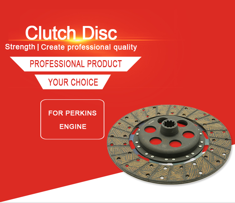 Chinese Factory Farm Tractor Engine Spare Parts Clutch Disc for MF OEM 825374M1