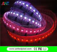 individually addressable programmable rgb led strip waterproof ws2801 ws2811 ws2812b 5v 144leds /