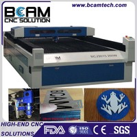 Rich function 260W cnc co2 laser cutting machine for metal and non-metal