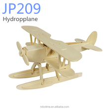 DIY Robotime cheap Wooden Puzzle Aircraft Toy