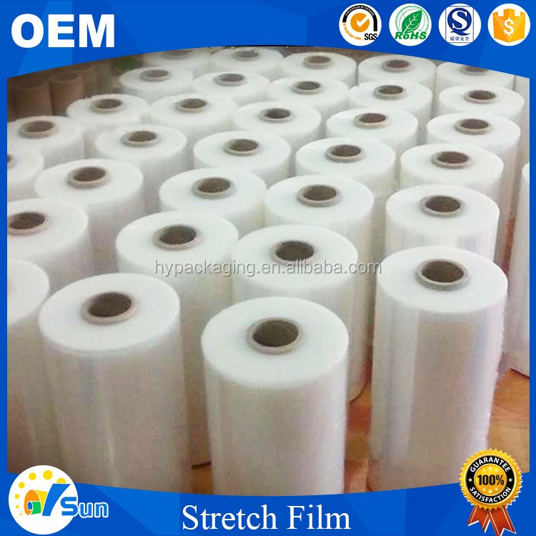 Wholesale UK Factory Packing Use Water-proof Transparent PE Stretch Film