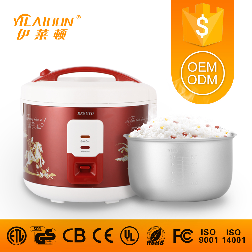 Famous brand red redmond multi rice cooker