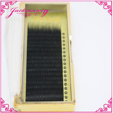 Top Quality SILK 0.15mm black ellipse flat shape individual eyelash extensions