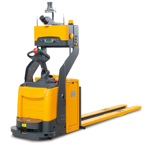 IKV Fully Automatic Forklift Laser Guided Vehicle for Product Stacking