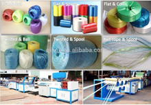 Productive Skillful manufacture plastic wire rope production line