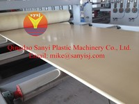PVC Celuka Foam Board Production Line/SJSZ 80/156/Double Conical Screw