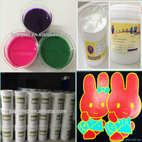 guangdong silk screen water base print textile rubber white ink