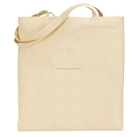 Quilted standard size tote shopping bag handle