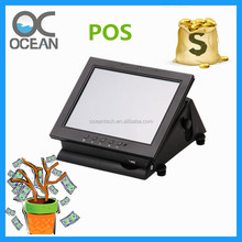 Pos system Fanless aluminum composite linux All-in-One touch pos terminal