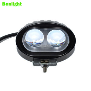 hot sale 4D 10w/20w truck led work light 4inch led blue forklift safety lights for trucks