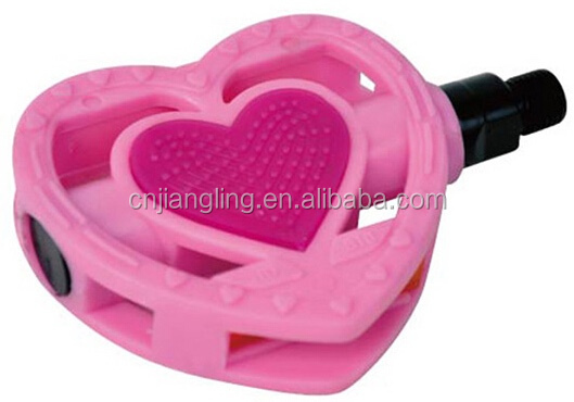 Plastic-pp Without Ball Sate-Lite Reflector Pink Color Mini Bicycle Treadle