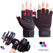 Half Finger Fitness Gloves Weight Lifting Gym Training Gloves/ Bodybuilding Workout Gym Lifting Gloves