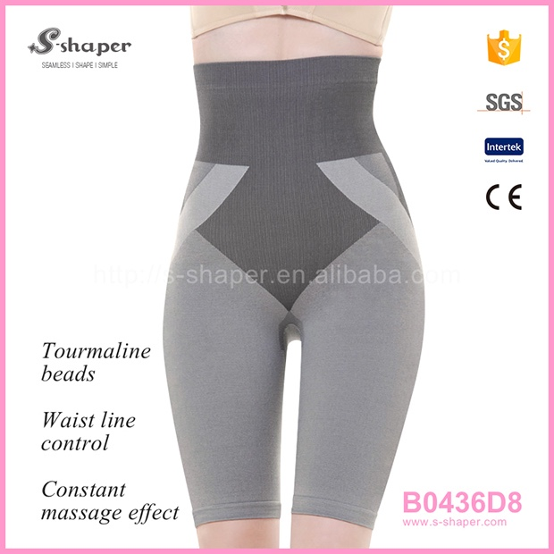 S - SHAPER Hot Pants Tourmaline Bamboo Shorts B0436D8