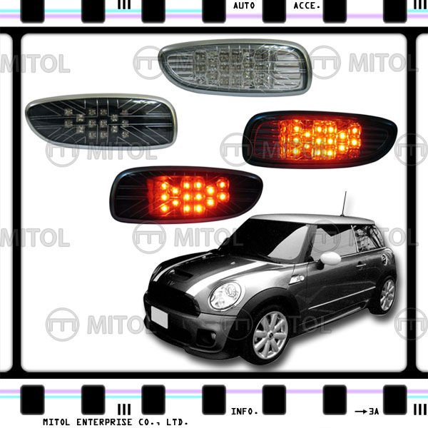 LED Rear Fog Light Fog Lamp For Mini Cooper R56S