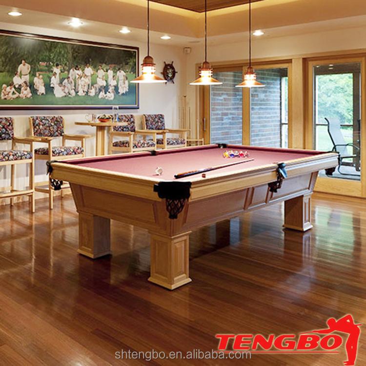 Natural slate billiard table pool table structure pool for 1 slate pool table