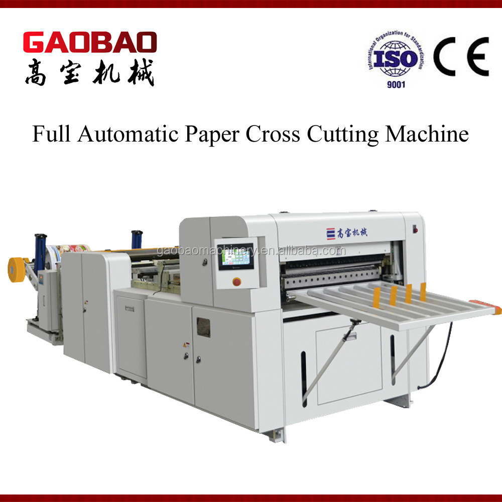 Professional Two-Side Offset Paper Sheet Cutting Machine