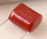 film capacitor 400v 104j and original new capacitor 225k 400v 450V 630V