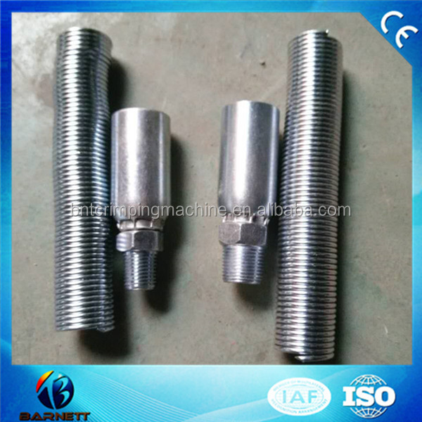 barnett universal auto air conditioning Beadlock hose Fittings crimp on fittings with R134a service port female #10 straight