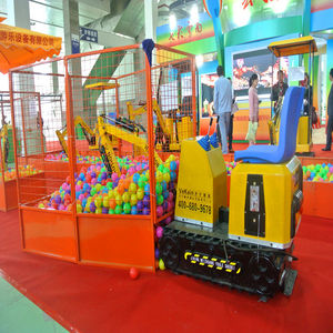 VEKAIN high quality coin operated amusement park ride equipment kids ride on toy children excavator