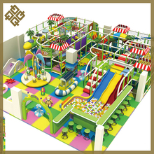 Colorful Entertainment PVC Big Size Commercial Indoor Playground