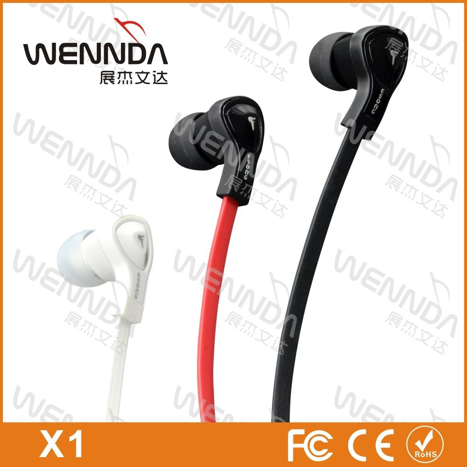 High quality earphones with mic and volume control for trading company
